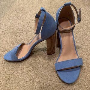 Blue ASOS Heels
